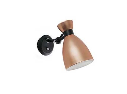 RETRO Copper wall lamp