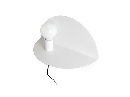 NIT Left white wall lamp