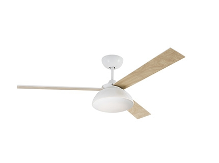 RODAS LED White ceiling fan with DC motor