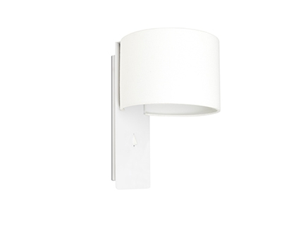 FOLD White wall lamp