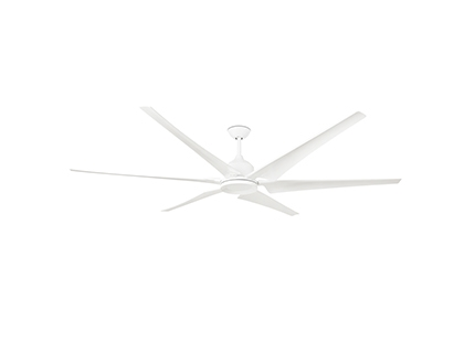 CIES White ceiling fan with DC motor