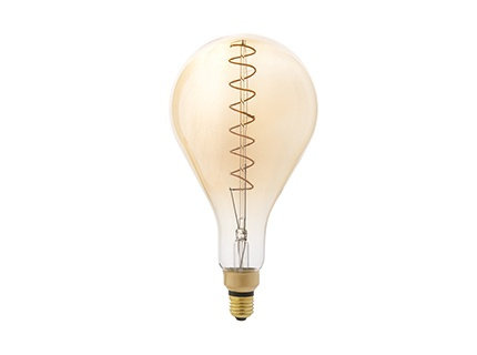 BULB A160 DECORATIVE FILAMENT LED AMBER E27 5W